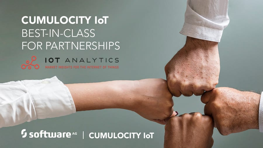 Respected Analyst - IoT Analytics - Recognise Software AG's Cumulocity IoT as Best-in-Class for Partnerships
