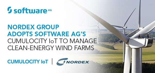 Nordex Group Adopts Cumulocity IoT to Manage Clean-Energy Wind Farms