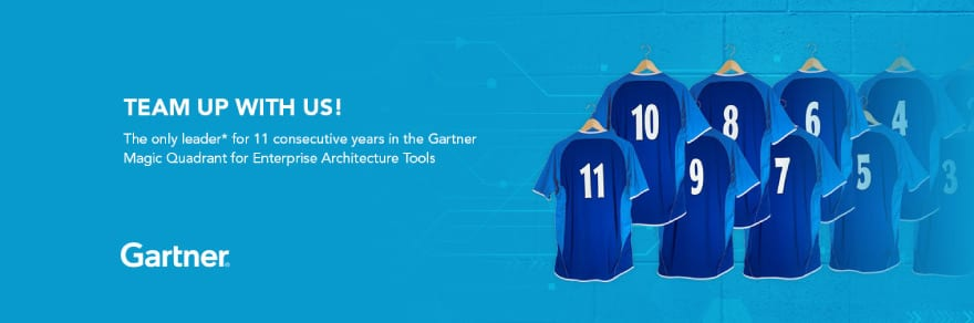Eleventh Consecutive Year Named a Leader in Gartner Magic Quadrant for Enterprise Architecture Tools
