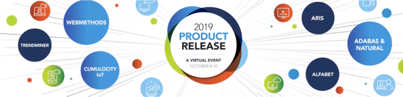 Attend our 2019 product release virtual event!